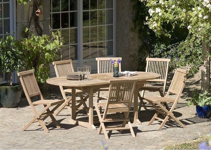 Salon de jardin Cdiscount - Achat Salon de jardin en teck ...