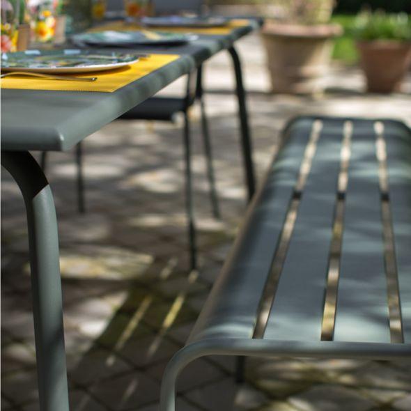 Salon de jardin Monceau Fermob - Salon de Jardin Gamm Vert - Iziva.com