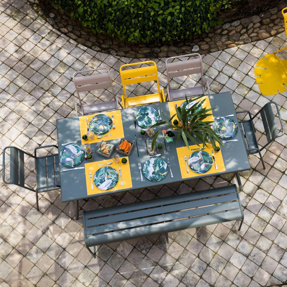 Salon de jardin Monceau Fermob - Salon de Jardin Gamm Vert