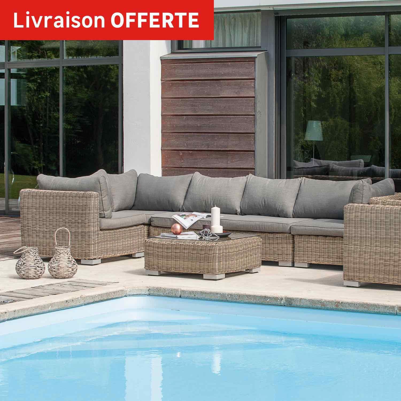 Salon de jardin modulable leroy merlin - Mailleraye.fr jardin