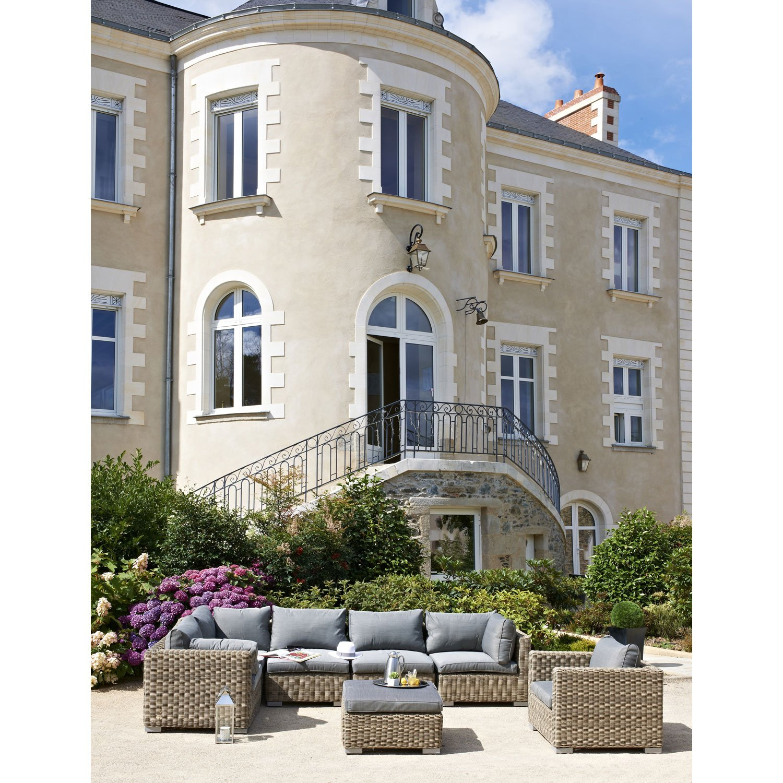Salon de jardin Montmartre 6 personnes - Salon de Jardin Leroy ...