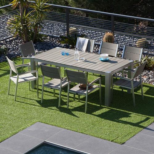 Soldes Salon de jardin Decoclico - Salon de jardin Camano - Iziva.com
