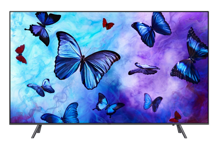 b3754e9f417 SAMSUNG 55Q6F 2018 TV QLED 4K UHD 140 cm pas cher - Soldes ...