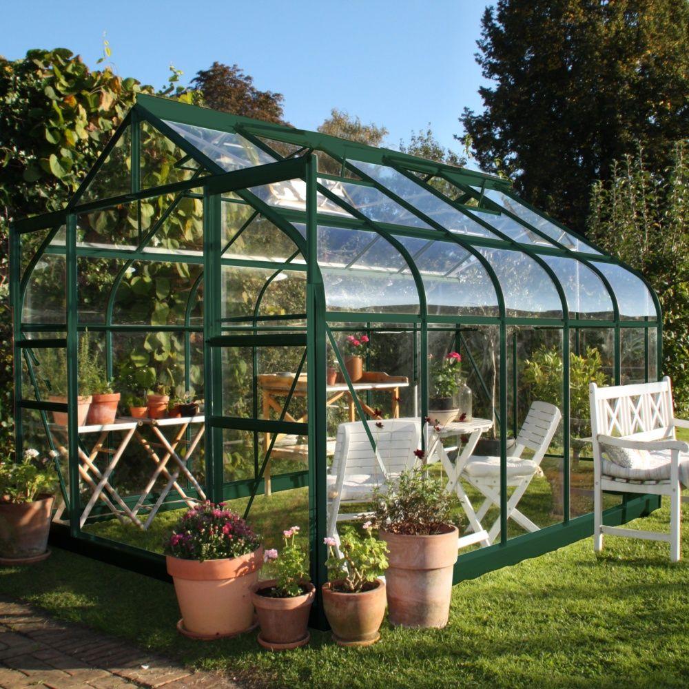 Serre de jardin Supreme verre trempé 8.1 m² - Serre de jardin Gamm ...