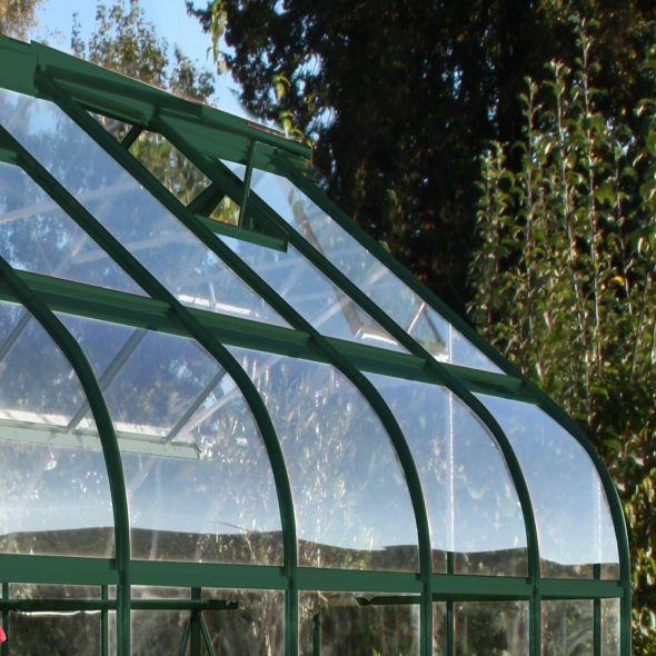 Serre de jardin Supreme verre trempé 8.1 m²