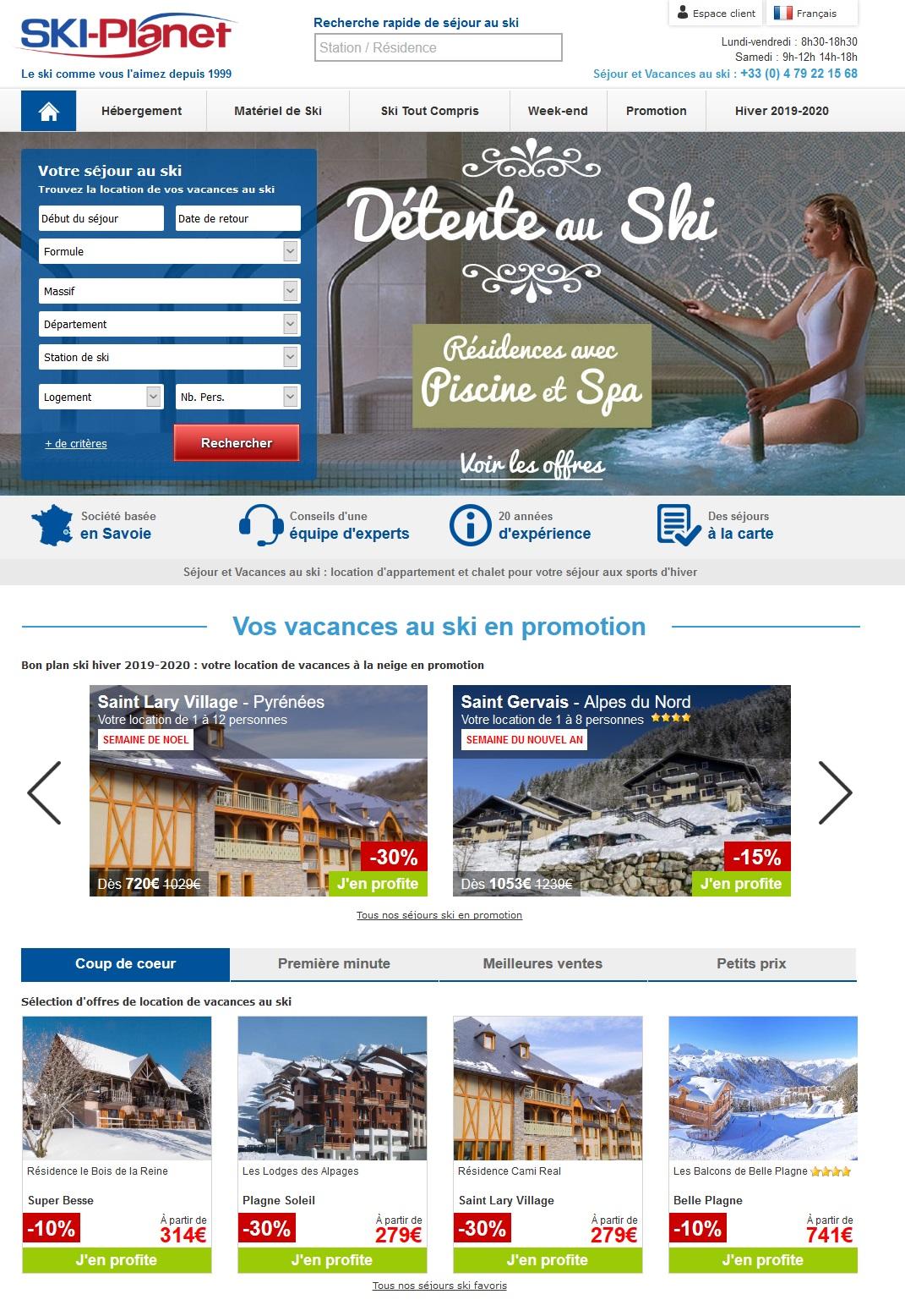 Ski Planet vacances au ski