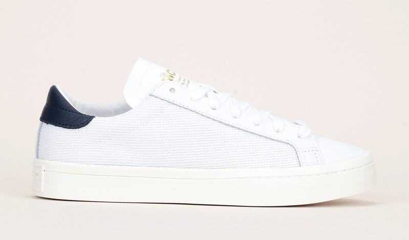 Adidas Originals Courtvantage Sneakers en toile texturée