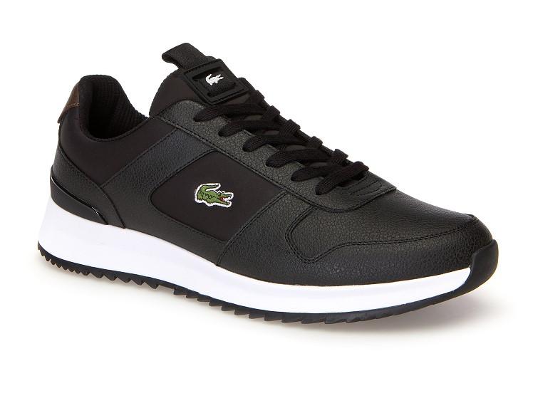 ac27b339a0 Sneakers Joggeur 2.0 Lacoste en cuir - Baskets Homme Lacoste - Iziva.com