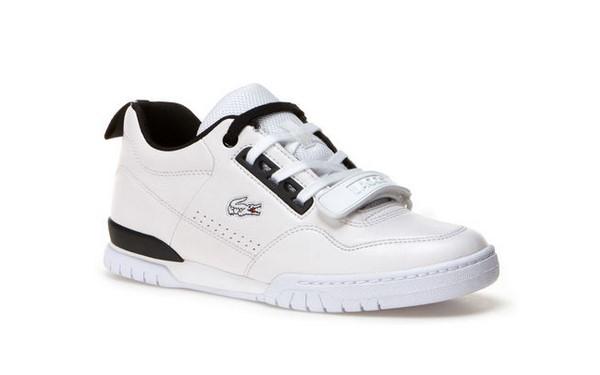 Missouri Baskets Sneakers Femme En Lacoste Cuir Bicolore 6SZwC