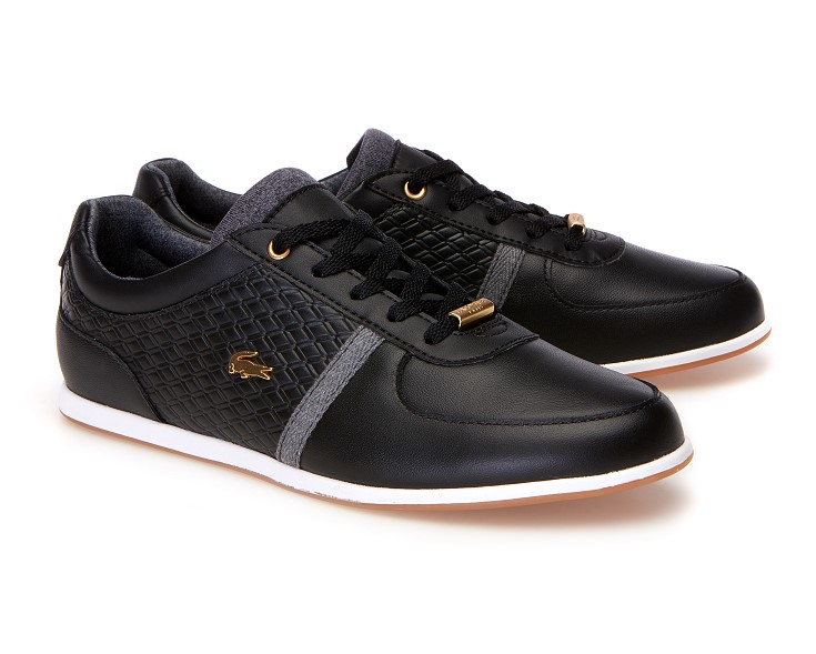 Lacoste REY SPORT Baskets basses black/dark grey