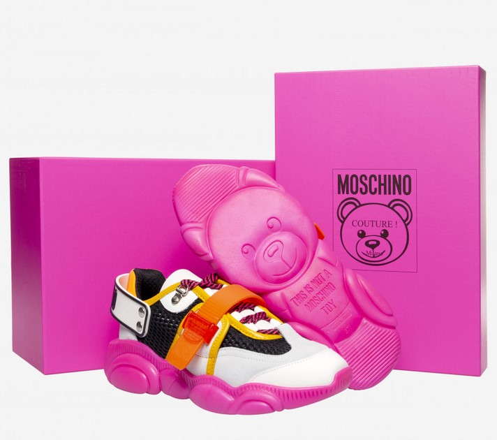 Sneakers Teddy Shoes Fluo Moschino Teddy Fluo