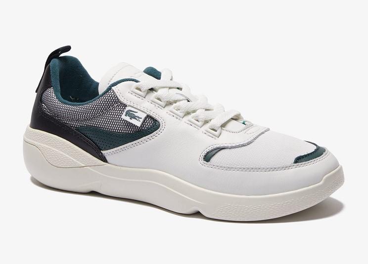Et Wildcard Sneakers Homme Lacoste Baskets En Cuir Textile xrWdBoeC