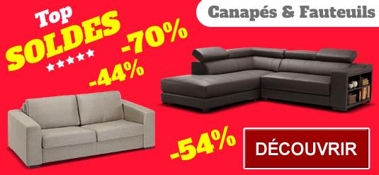 soldes vente unique prix cass s jusqu 39 80 canap cuir meubles. Black Bedroom Furniture Sets. Home Design Ideas