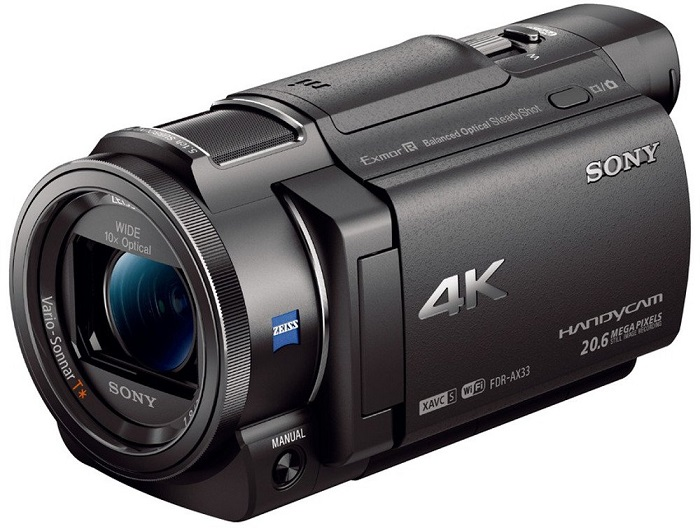 Sony FDR-AX33 Caméscope 4K - Amazon
