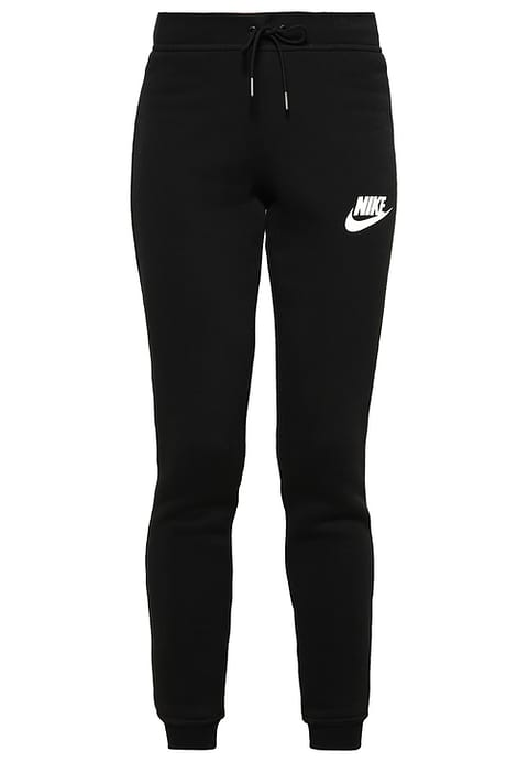 genuine shoes new arrival incredible prices Nike Sportswear RALLY Pantalon de survêtement black/antique silver/white