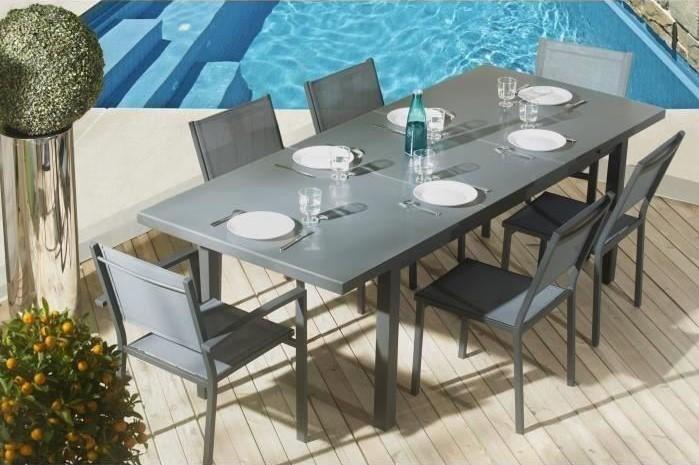 jardin jardin Roscana2 Table Chaises Lot de de de lots DWEH2IY9