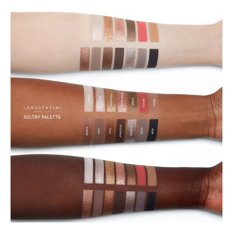 Sultry Eye Shadow Palette - Palette d'ombres à paupières voluptueuses de ANASTASIA BEVERLY HILLS