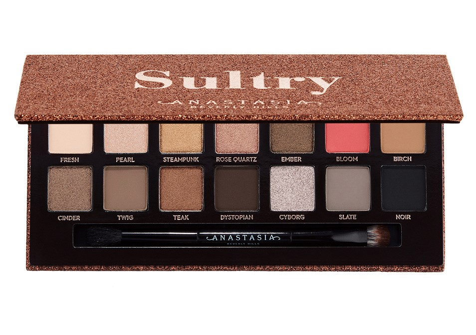 Sultry Eye Shadow Palette - Palette d'ombres à paupières voluptueuses de ANASTASIA BEVERLY HILLS