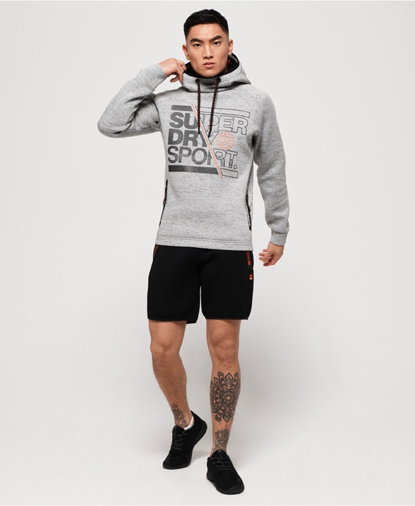 Superdry Sweat à capuche graphique stretch Gym Tech pour Homme