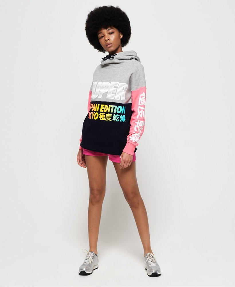 Superdry Sweat à capuche Japan Edition pour Femme