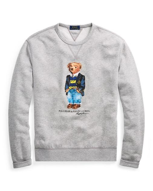 Sweat Polo Bear preppy en molleton Polo Ralph Lauren - Sweat Homme ... a23bba2a9998