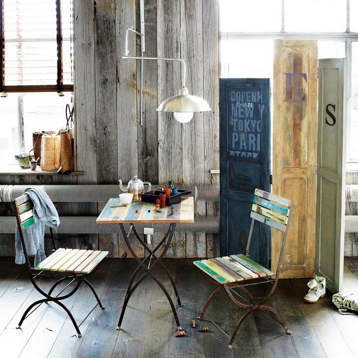 Table + 2 chaises de jardin Collioure - Table de Jardin Maisons du ...