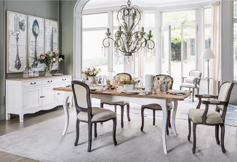 Table à manger extensible Versailles en manguier 10 personnes ...