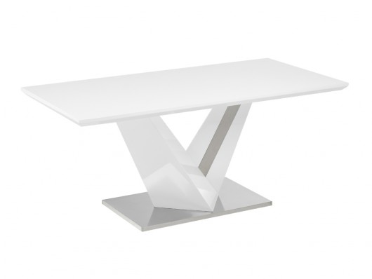 Table A Manger Gildas Mdf Laque Metal Table A Manger Vente