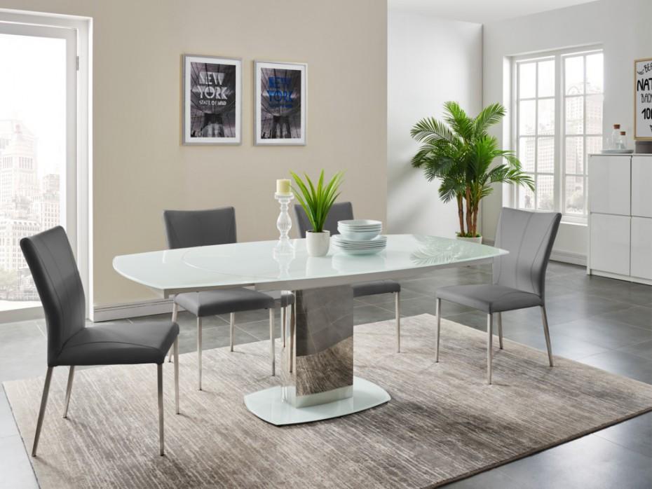 table extensible talicia pas cher table manger vente unique. Black Bedroom Furniture Sets. Home Design Ideas