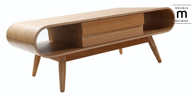 table basse scandinave bois naturel baltik pas cher table basse miliboo. Black Bedroom Furniture Sets. Home Design Ideas