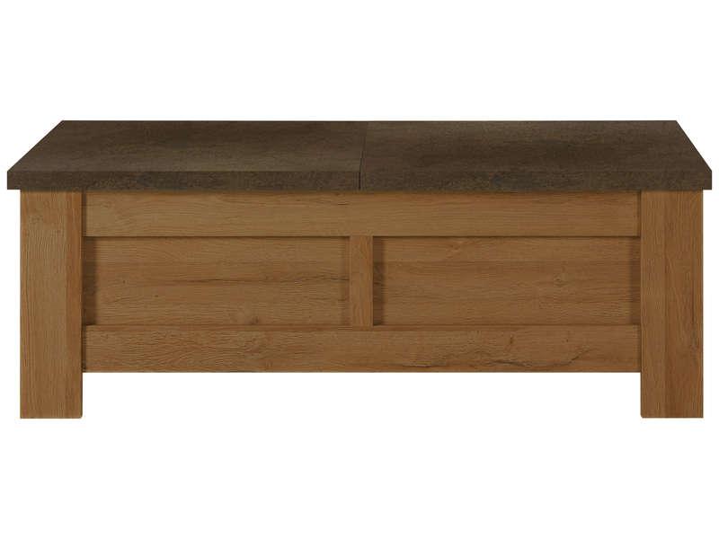 Table basse broceliande rouille table basse conforama iziva