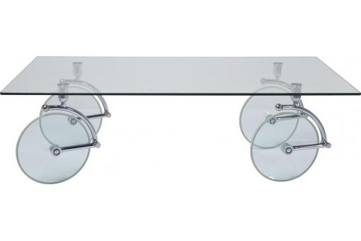 Table Basse Kare Design en Verre à Roues - Table basse Declikdeco   (Maison)  Declikdeco Table Basse Kare Design en Verre à Roues Table basse  Declikdeco ... 5b9c7fde8fa5
