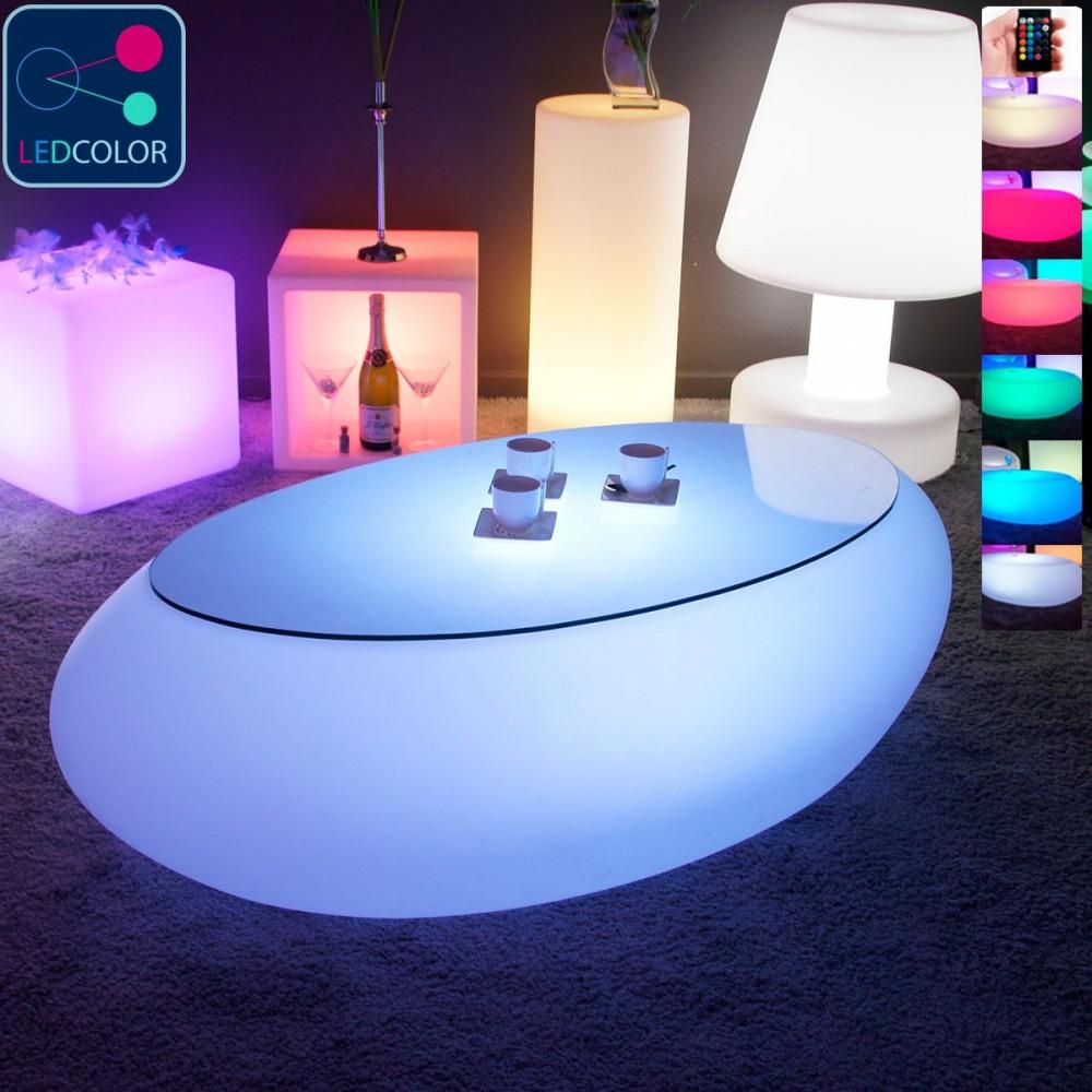 Rue Stone Led Table Du Commerce Livedeco Basse Multicolore zUSMpqVG