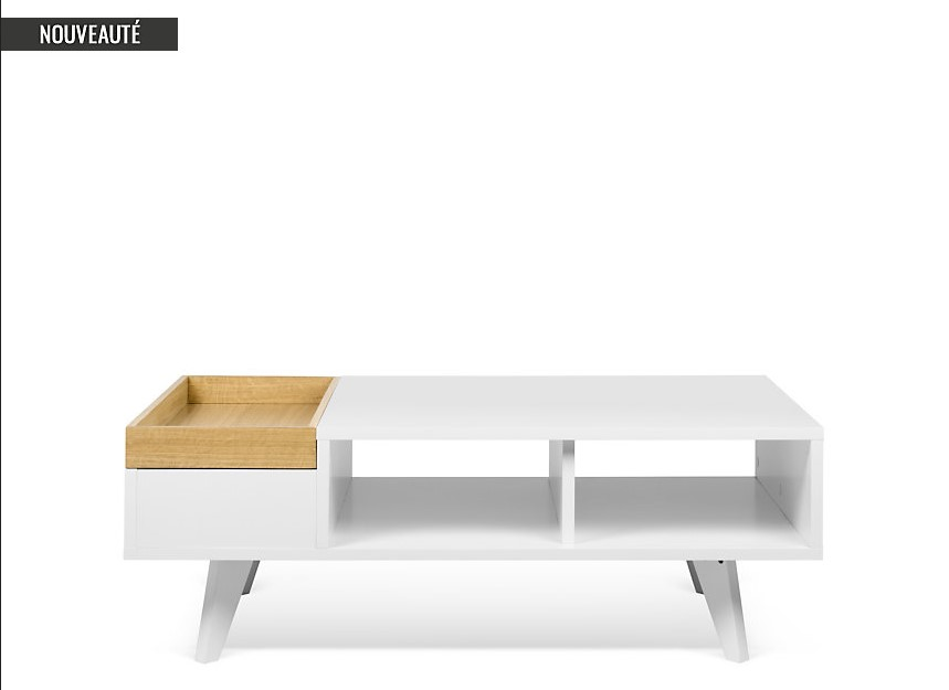 Table basse Platô TEMA HOME pas cher - Table basse Camif - Iziva.com