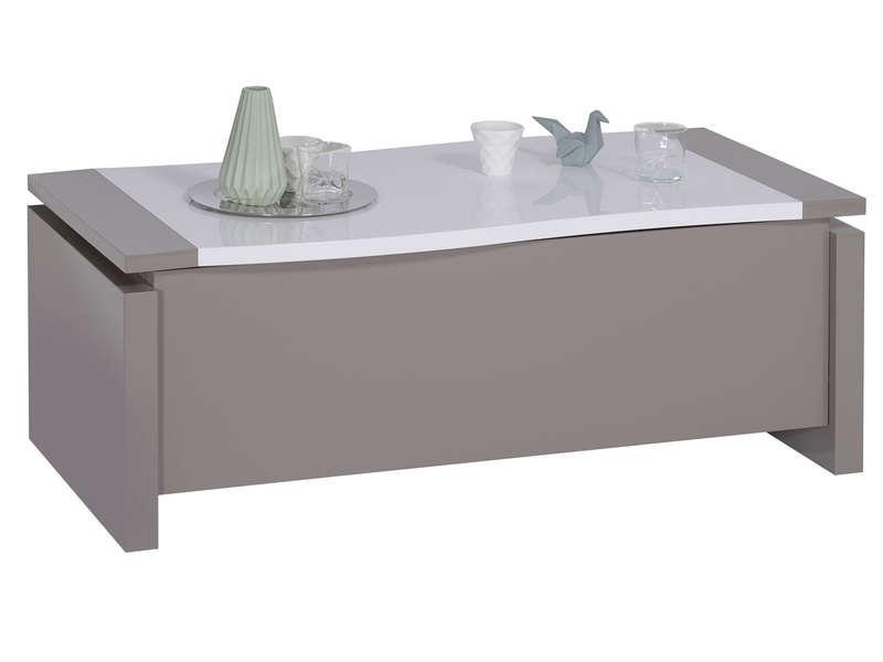 Table Basse Rectangulaire Rialto Avec Plateau Relevable Table