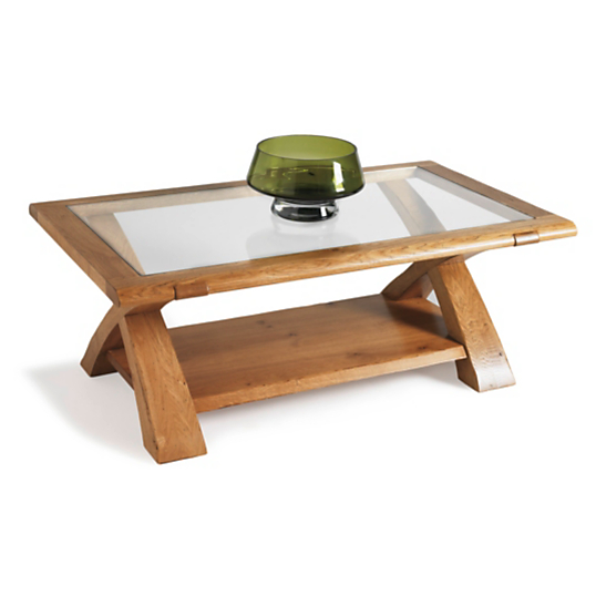 Table basse rectangulaire Moissac Camif - Table basse Camif - Iziva.com