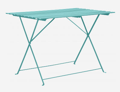 Table de Jardin Habitat, Parc Table de jardin pliante - Iziva.com