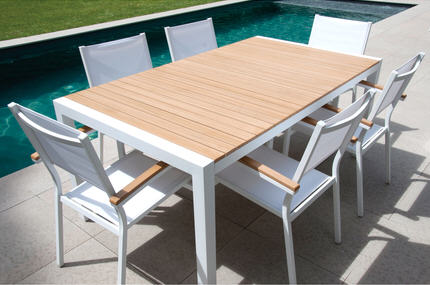 Stunning Table De Jardin Imitation Teck Pictures - Amazing House ...