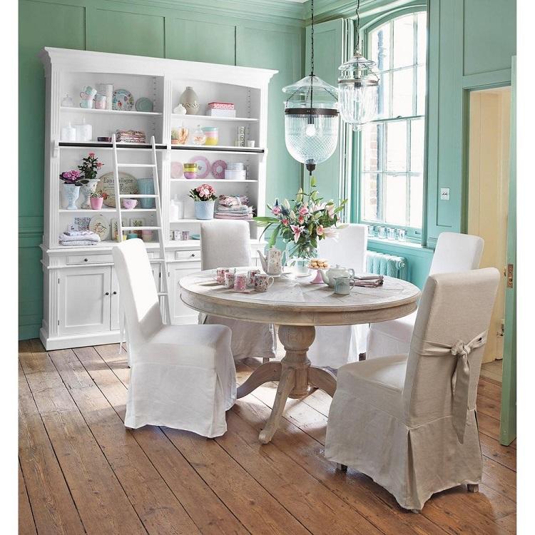 Table salle manger 12 couverts lipstick bois fonc la - La redoute chaises salle a manger ...