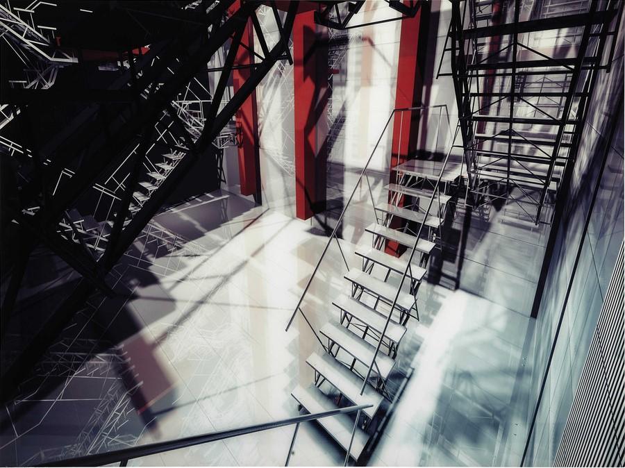 tableau en plexi 120 x 160 cm staircase maisons du monde