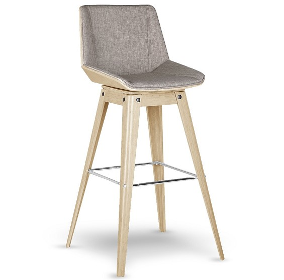 tabouret de bar design nackka pieds bois soldes tabouret mobilier moss. Black Bedroom Furniture Sets. Home Design Ideas