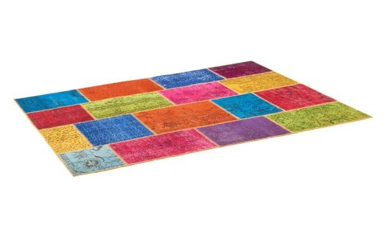 burling tapis en laine 170x240 multicolore habitat - Tapis Habitat