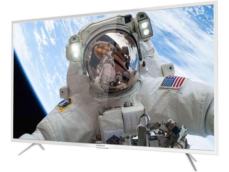 Téléviseur LED 139 cm THOMSON 55UD6206W pas cher - Soldes Téléviseur Conforama