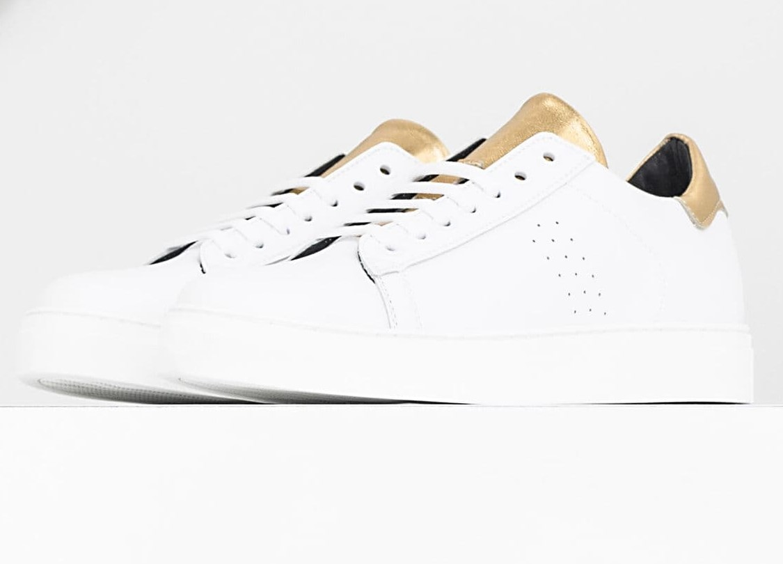 Tennis blanches IPPON VINTAGE x I.CODE Ikks pour Femme