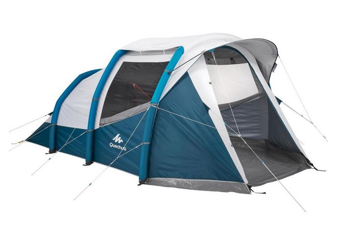 Tente de camping gonflable AIR SECONDS 4.1 FRESH&BLACK QUECHUA