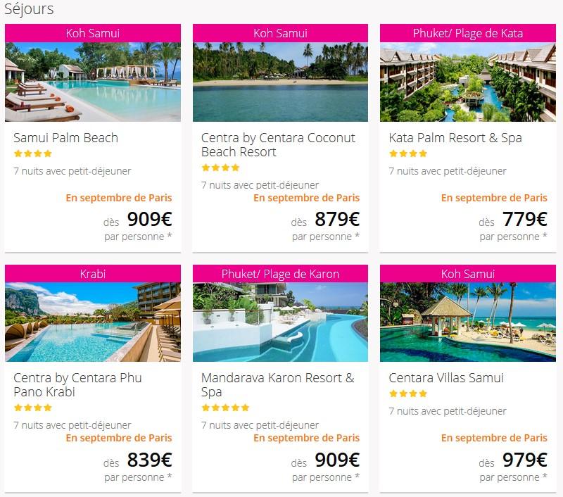 Votre Voyage en Thailande pas cher avec Lastminute.com à partir de 729.00 €