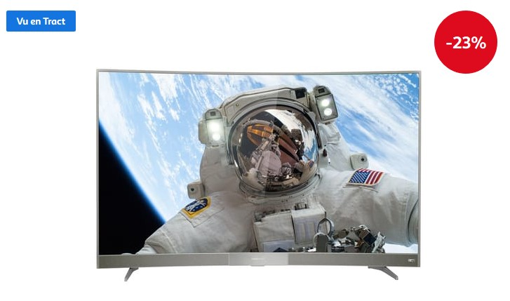 philips 55puh6400 smart tv led uhd 4k 139cm t l viseur 4k cdiscount. Black Bedroom Furniture Sets. Home Design Ideas