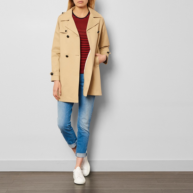 Trench Poppy Beige Les coyotes de Paris