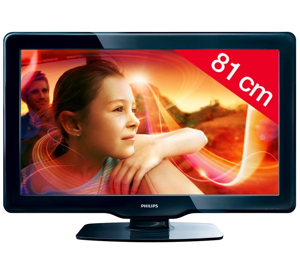tv lcd carrefour - téléviseur lcd philips 32pfl3406h/12 prix 289,00