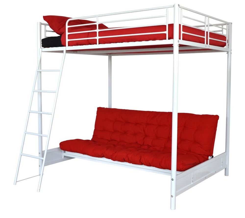 lit mezzanine carrefour mezzo lit mezzanine 140x190 avec. Black Bedroom Furniture Sets. Home Design Ideas